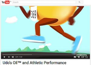 Youtube clip - Udo's for Athletes