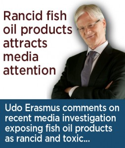 Media finds many fish oil products are rancid