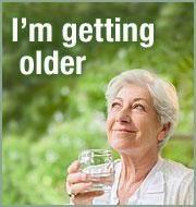 I'm getting older